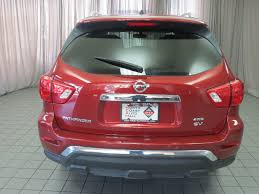 pathfinder nissan trunk 2017 used nissan pathfinder 4x4 sv at north coast auto mall