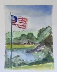 Painting A Flag Pamela Copeman A Poem U0026 A Painting