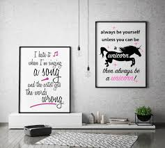 Online Shopping Home Decor South Africa Always Be Yourself Unless You Can Be A Unicorn Then Always Be A