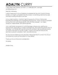 Enforcement Letter Of Recommendation Exle Entertainment Security Guard Cover Letter 80 Images