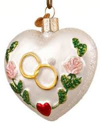 damask 30th wedding anniversary ornament ceramic ornament