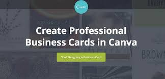 Design A Business Card Free 10 Free Business Card Makers With Customizable Templates
