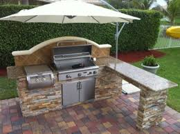 Best  Outdoor Barbeque Area Ideas On Pinterest Outdoor - Simple outdoor kitchen