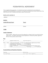 Landlord Reference Letter Ireland Simple Room Rental Agreement Sample Create Professional Resumes