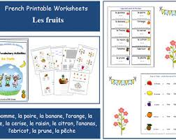 learning french colours with teacher worksheets french for