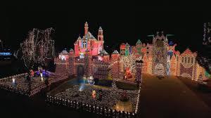 celebration fl christmas lights entire neighborhoods battle for best christmas light display video