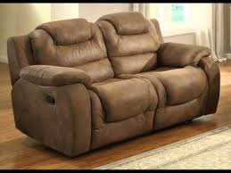 Loveseat Black Leather Reclining Loveseat And Sleeper Sofa Black Leather Deals Youtube