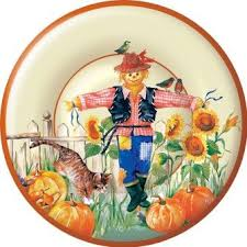 54 best fall thanksgiving paper plates and paper napkins images