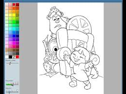 monsters coloring pages kids monsters coloring pages