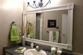 bathroom mirror trim ideas audacious bathroom mirror frame ideas bathroom mirror trim ideas