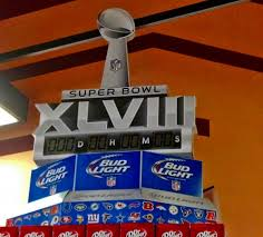 Bud Light Wallpaper Bud Light Super Bowl 48 Display Football U0026 Sports Background