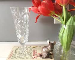 Waterford Crystal Small Vase Waterford Rose Bowl Etsy