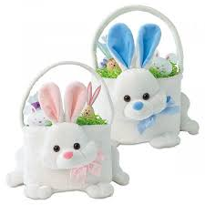 bunny easter basket personalized bunny baskets lillian vernon