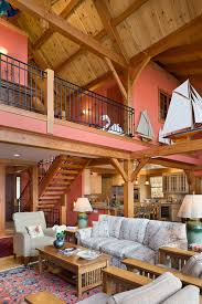 custom douglas fir timber frame home u2013 finger lakes ny woodhouse