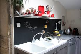 tableau noir ardoise cuisine impressionnant peinture ardoise cuisine avec un tableau noir dans ma