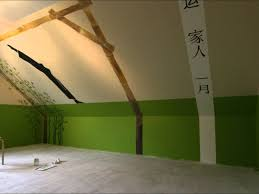 wandgestaltung für jugendzimmer wandbemalung jugendzimmer karate