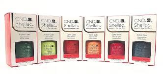 cnd shellac gel polish 2017 spring rhythm u0026 heat collection set of