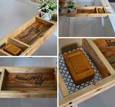 recycled wood recycled wood bath tray reader feature the graphics