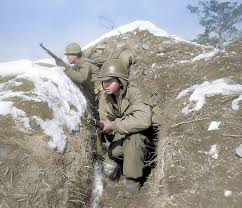 extraordinary colorized pictures of the korean war daily mail online