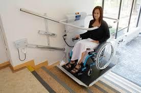pedana per disabili montascale altopiano montascale a pedana