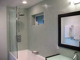 Glass Bathtub Enclosures Bathroom Excellent Tub Enclosure Tile Designs 114 Bathtub Wall