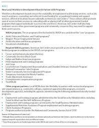 Youth Care Worker Job Description Understanding Local Workforce Systems Urban Institute