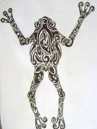 pin pin tribal frog tattoos tato tats on