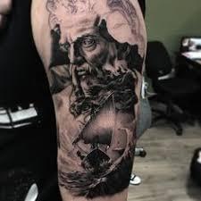 neptune u0026 trident awesome tattoos pinterest trident tattoo