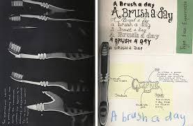 Industrial Design Thesis Ideas Graphic Design Sketchbook Ideas U2013 22 Inspirational Examples
