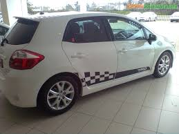 toyota auris used car 2011 toyota auris 1 6 trd used car for sale in durban south