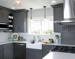Kitchen Distressed Kitchen Cabinets Best White Paint For White And Gray Kitchen Cabinets U2013 Guarinistore Com