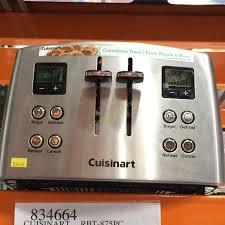 Cuisinart Toaster 4 Slice Cuisinart Rbt 875pc Countdown 4 Slice Stainless Steel Toaster