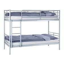 Bunk Beds Ikea Singapore White Wooden Bunk Bed With Stairs Plus - Ikea metal bunk beds