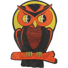 vintage halloween owl images reverse search