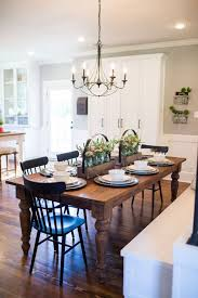 Kitchen Table With Built In Bench Best 25 Farmhouse Table Ideas On Pinterest Farmhouse Dining