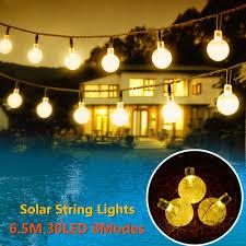 String Ball Lights by Outside Solar String Ball Lights Reviews Online Shopping Outside