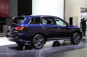 infiniti qx60 2016 interior infiniti qx60 shows restyled exterior in detroit autoevolution