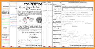 neil armstrong competition year 2 comprehension whole class guided