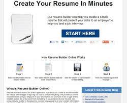 Website Resume Template Resume Resume Builder Website Fearsome Resume Builder Website