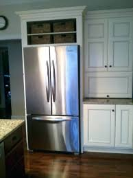 refrigerator that looks like a cabinet small cabinet between stove and fridge no cabinet over refrigerator