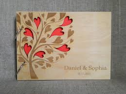 engravable wedding guest book wooden wedding guest book custom wedding guestbook custom wood