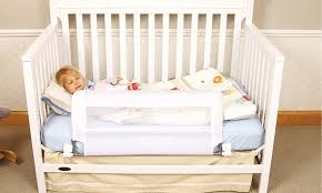 Regalo Convertible Crib Rail Regalo Convertible Crib Rail Groupon Goods Crib Railings State Room
