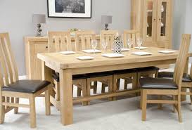 Large Wood Dining Room Table Solid Oak Dining Chair Home Ranges By Wood Oak Venezia Solid Oak