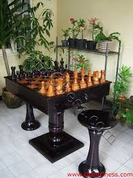 chess table and chairs set outdoor chess table chess table is one of chess game equip flickr