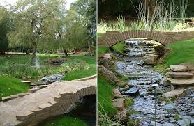 Backyard Bridge 50 Dreamy And Delightful Garden Bridge Ideas