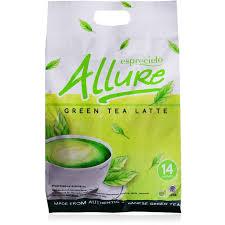 Teh Hijau Serbuk 3 packs esprecielo green tea latte 42 sachets x 24 gram