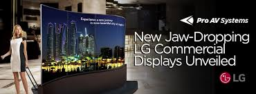 new jaw dropping lg commercial displays unveiledpro av systems