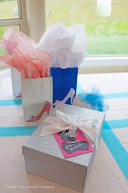 glass slipper party favor cinderella party part 1 gift tags banner bags simple simon