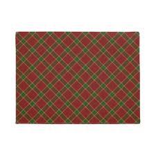 Holiday Doormat Red Plaid Doormats U0026 Welcome Mats Zazzle
