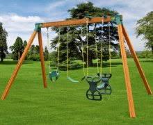 amazon com eastern jungle gym easy 1 2 3 a frame swing set